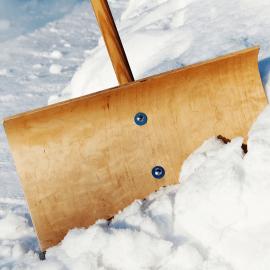 Der Winterdienst Hoffmann räumt
